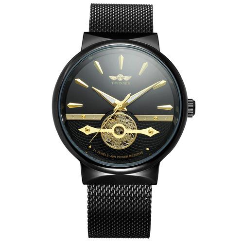 427 homens estilo negócio relógio 3d projeto escala aço aço