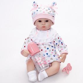 Muñeca Realista Adorable Bebes 42cm Niños De Reborn Juguetes YDIWH29E