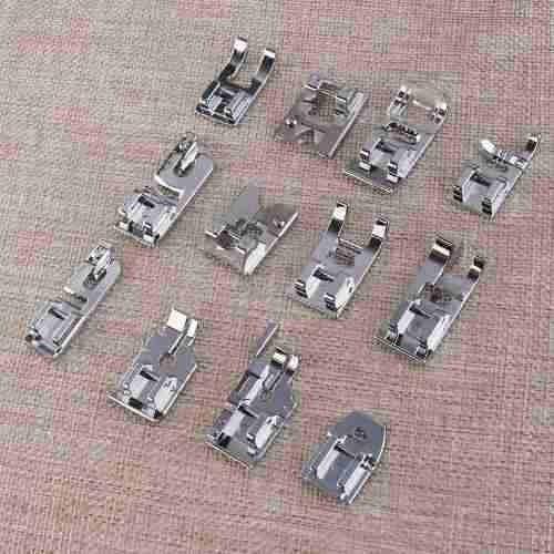 42pc máquina de coser doméstica prensatelas pie kit