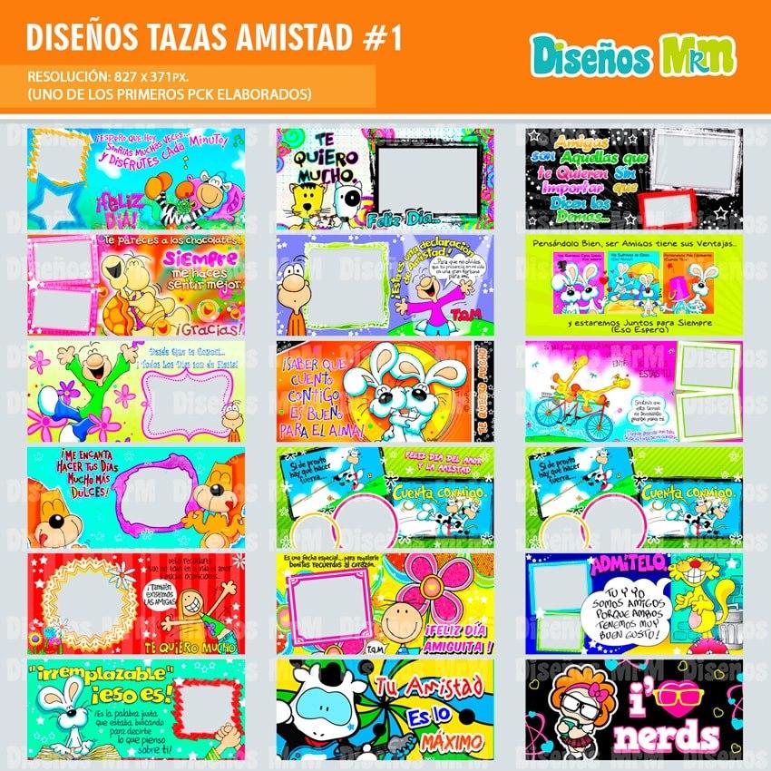 43 Plantillas Diseños Png Mugs Taza | Amistad | - $ 7.000 en ...