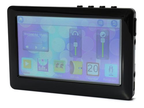 4.3 tela lcd mp3 mp4 mp5 video music media player gravador d