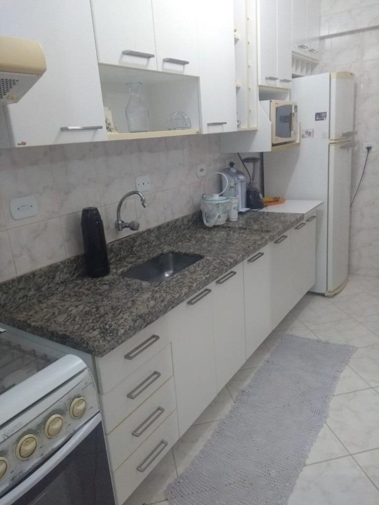 4300 - apartamento 1 dormitório frente ao mar jd. praia gran