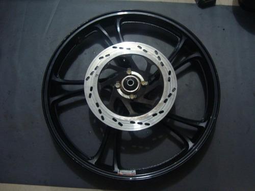 4408 - roda dianteira dafra riva 150 - com amassado