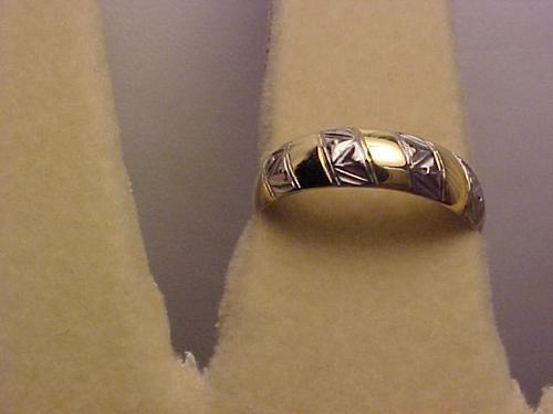 @@441a - anel estilo aliança em ouro 18k