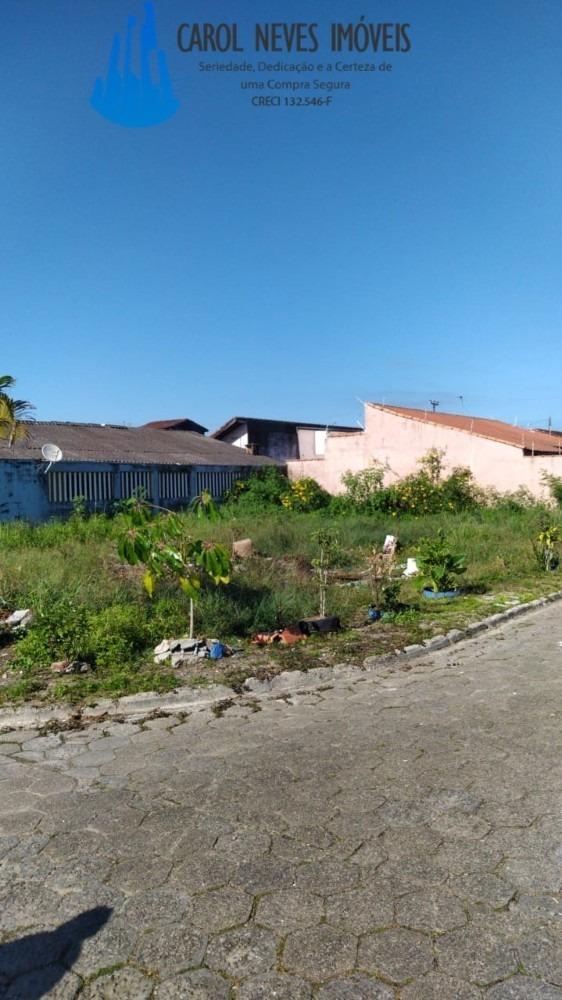 4447 - terreno com 286m² de esquina mongaguá
