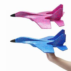 Juguete Epp P Lanzar Lanzamiento 44cm Vuelo Avión Mano 7gy6fb