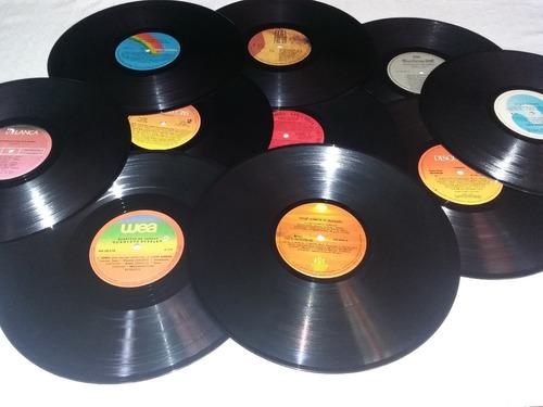 45 discos de vinil decoração de festa anos 60, 80.sem capas