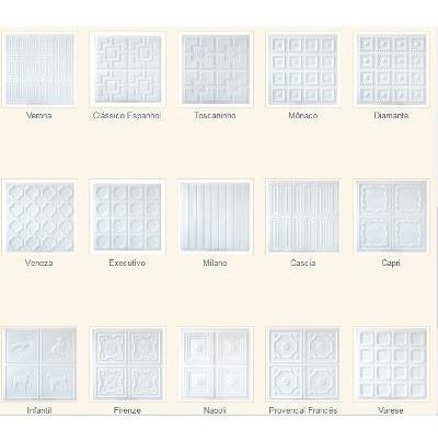 45 forros de pvc placas 50cm x 50cm 3d decorativo