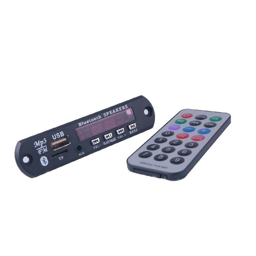 45 placa decodificador usb p/ caixa ativa mp3 fm aux blueto