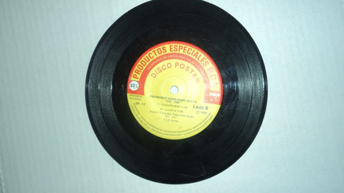 45 rpm disco poster - francisco gabilondio soler 1985