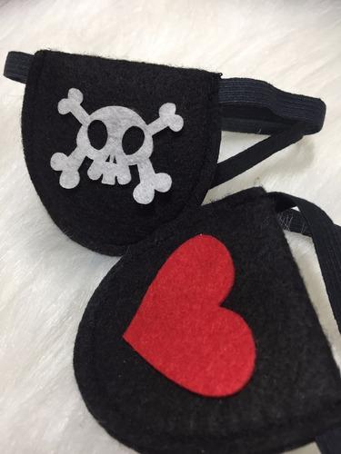 45  tapa olho de pirata menino menina festa aniversario