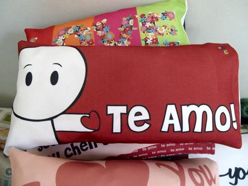 45 travesseiros almofada lembrança 40x20cm dia dos namorados