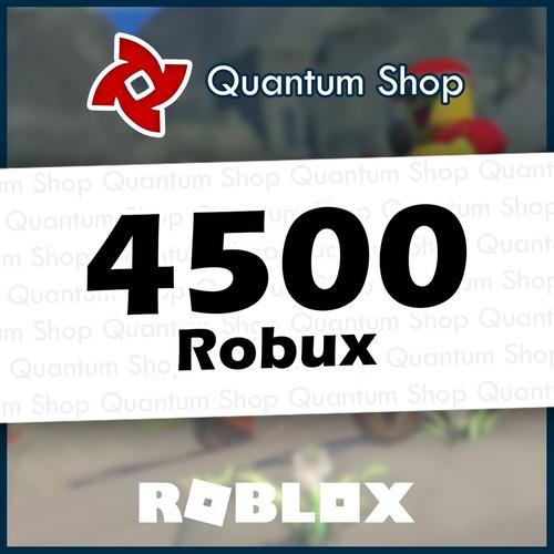 4500 robux - roblox mejor precio todas las plataformas