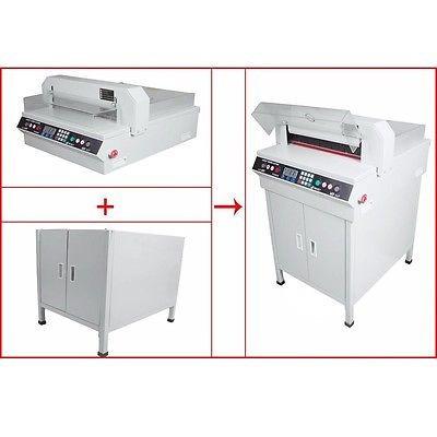 450vs + 17,7 guillotina corte máquina oficina pila