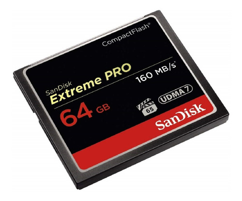 454em12x compact flash sandisk extreme pro 64gb 160mb/s cf