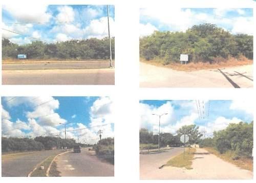 4598m2 sobre avenida en temozon norte da 3 esquinas ¡¡¡ sur-norte