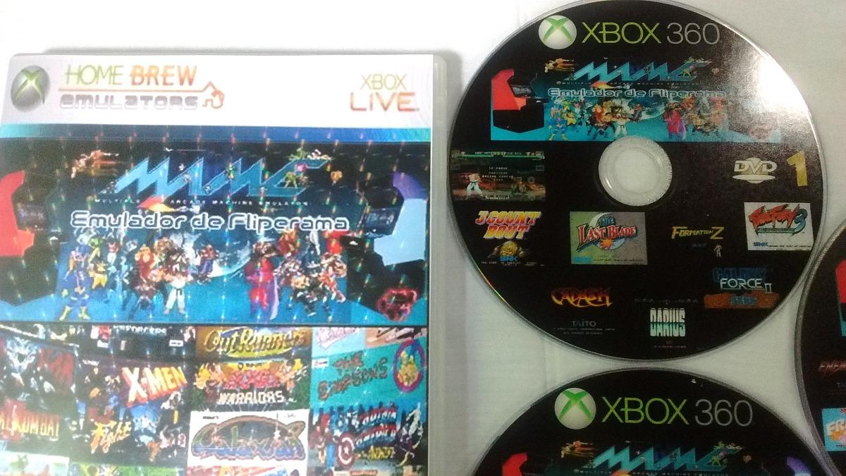 4,600 Games Mame No-xbox-360-rgh Coleção Top