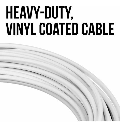 47-foot cable de red de tenis de repuesto con 3  cuerda,