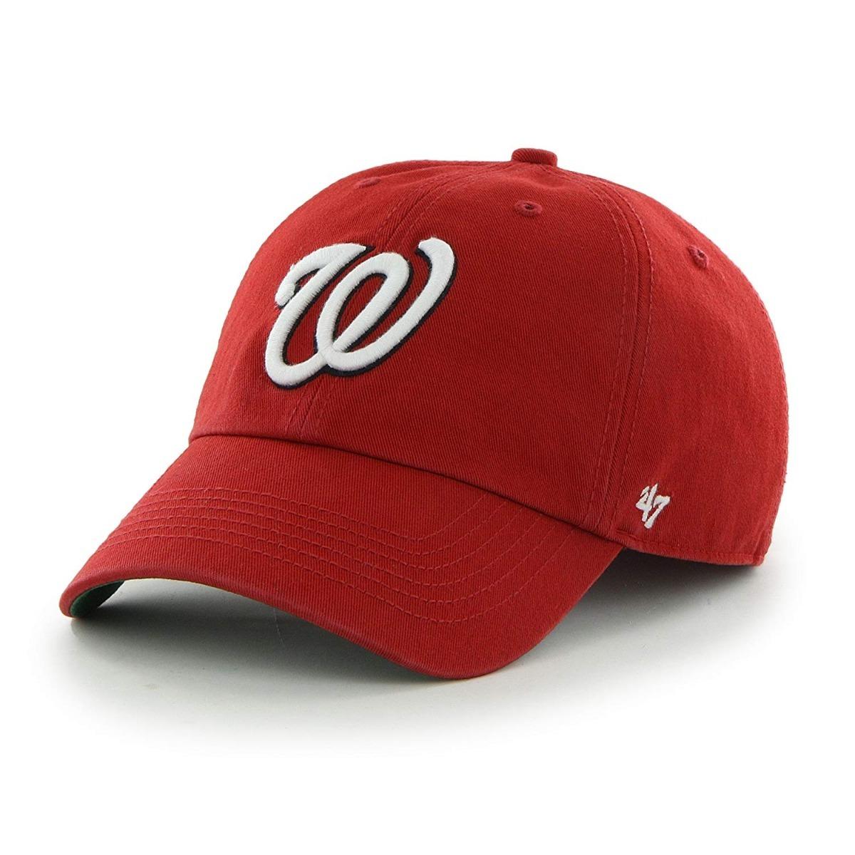 47 Franchise Fitted Washington Nationals Gorra Mlb M -   549.00 en ... 0722e31413f