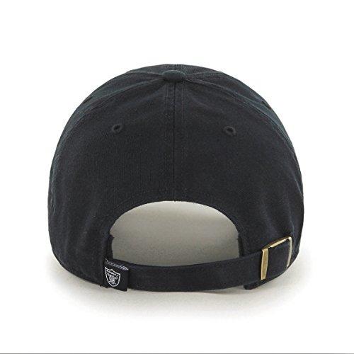 '47 nfl oakland raiders clean arriba sombrero ajustable , ne