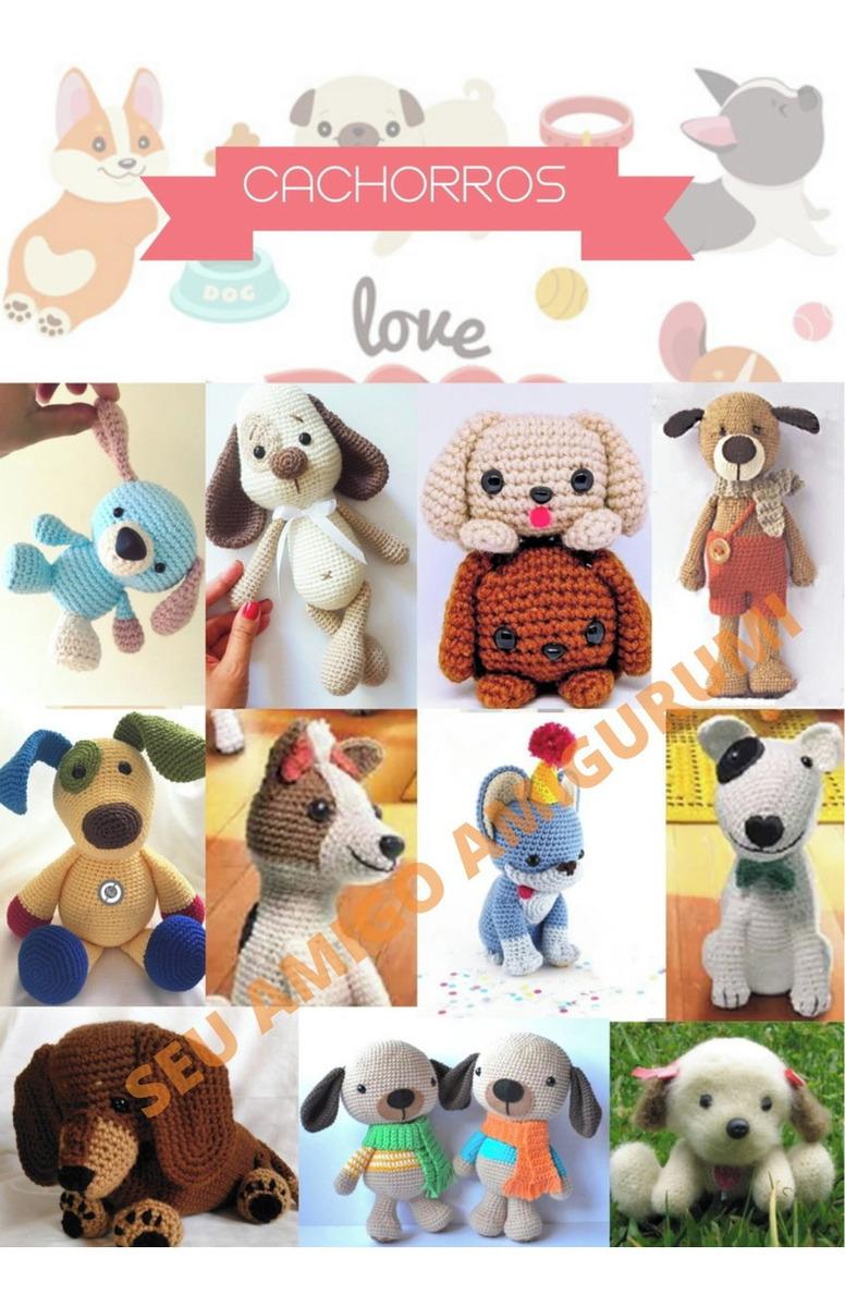 Receita amigurumi cachorro beagle • Curso de croche online•   1200x776