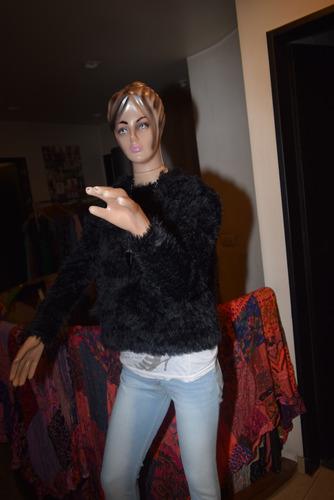 47 street sweater lan piel de mono con capucha nueva colecci
