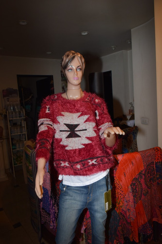 47 street sweater lan piel de mono estampado nueva coleccion