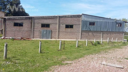 4700 m2 cubiertos sobre 5,75 ha. sobre avenida peron en san vicente