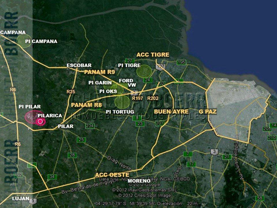 4.700m logísticos - parque ind pilar - docks de carga, sprin