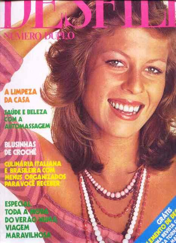 4733 revista desfile, numero (duplo) 50 de novembro de 1973,