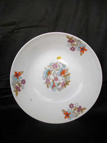 4733 ¿ saladeira real déc 60  porcelana
