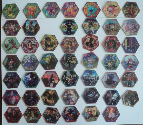 47/48 tazos power rangers fritto crac movimiento enviogratis
