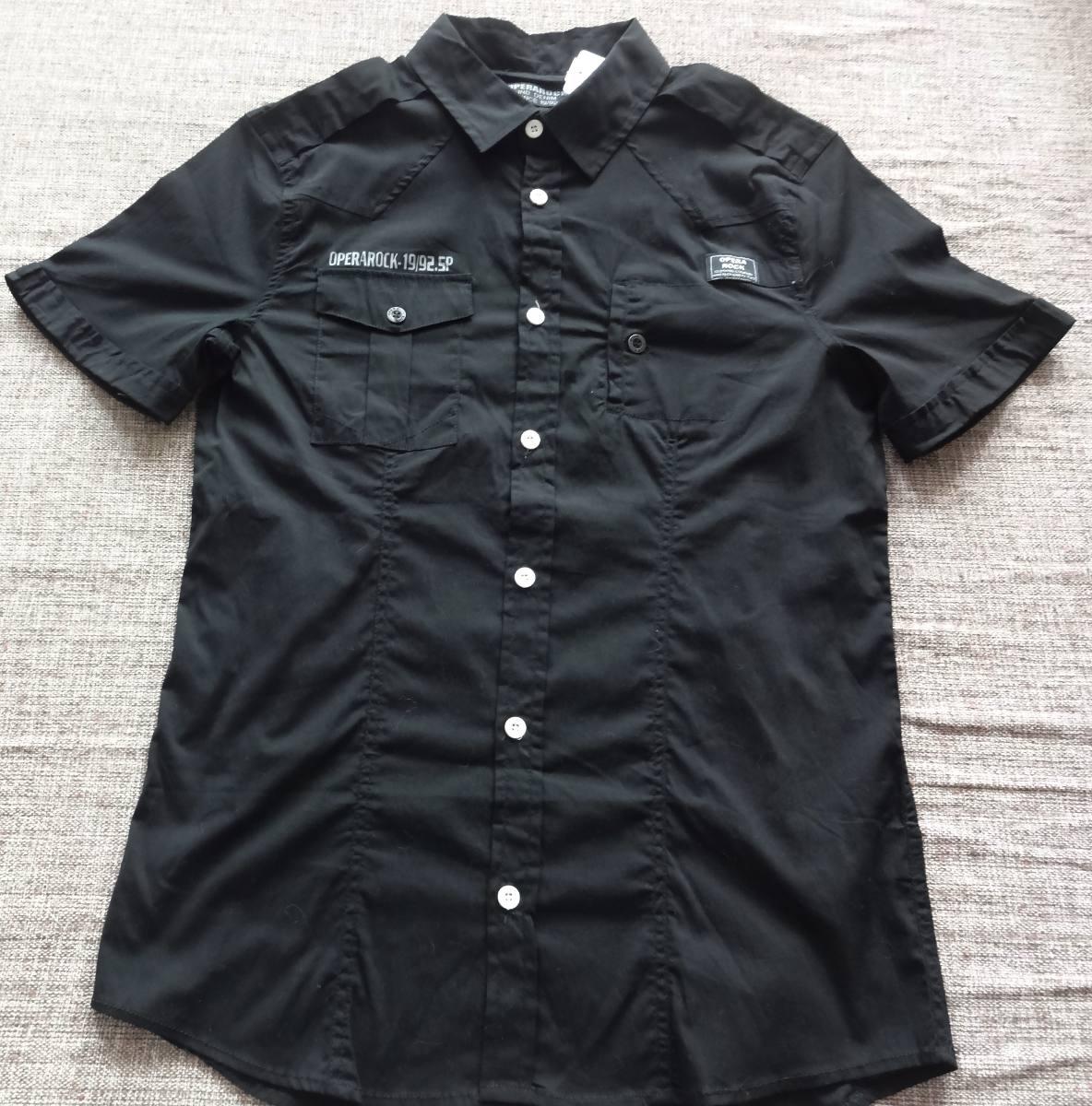 f4a3e82665 475 - Camisa Opera Rock Manga Curta Tamanho G - R$ 129,00 em Mercado ...