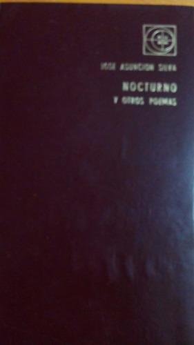 4764 libro nocturno y otros poemas jose a silva eudeba