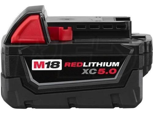 48 11 1850 bateria litio milwaukee m18 xc 5.0 a red lithium