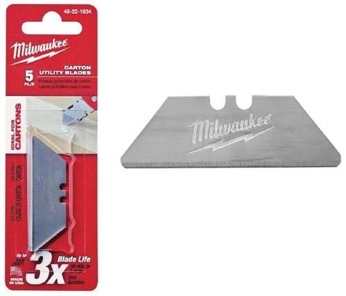 48 22-1934 hoja repuesto cutter cortador trincheta milwaukee