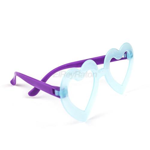 48 lentes de plastico en colores neon fluorescentes uv m35