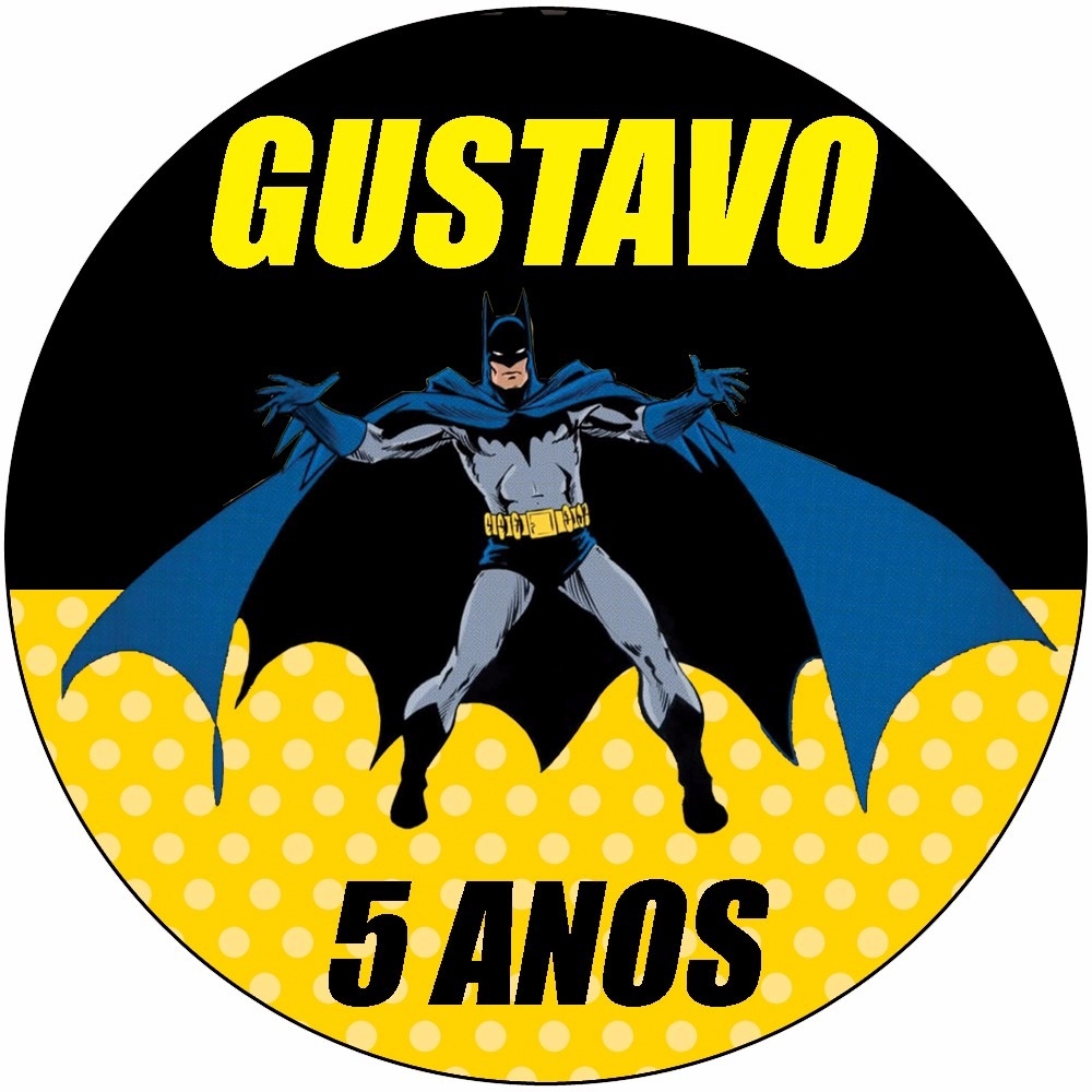 Aparador Para Sala De Estar Com Vidro ~ 48 Rotulo Latinha Adesivo Aniversário Batman Personalizado R$ 25,80 em Mercado Livre