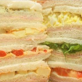 48 Sandwich Miga Triples Surtidos 12x6 Envio Gratis