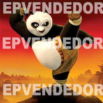 48 sticker adhesivos kung fu panda - calcomanias epvend
