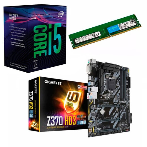 480 actualización pc intel coffee i5 8400 z370 sli 8gb