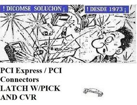 48099-4000 Pci Express Pci Connectors Latch W/pick And Cvr