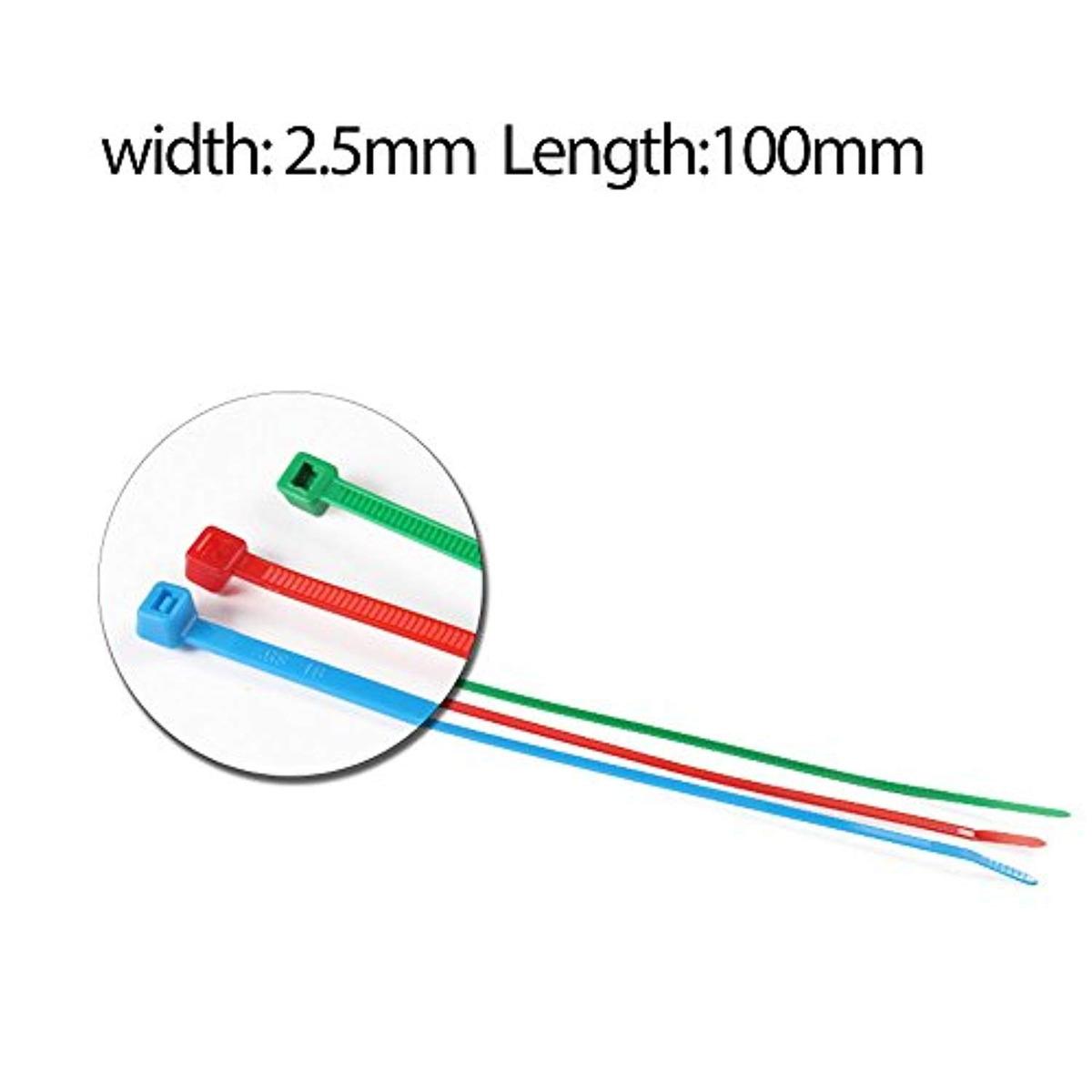 f3cdeda69535 480pieces 4 Nylon Cable Ties Self-locking - $ 998.21 en Mercado Libre