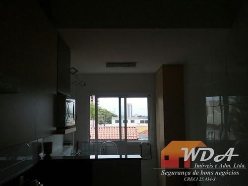 481 apartamento mauá centro 3 dorm. suíte 1 vaga 90m²