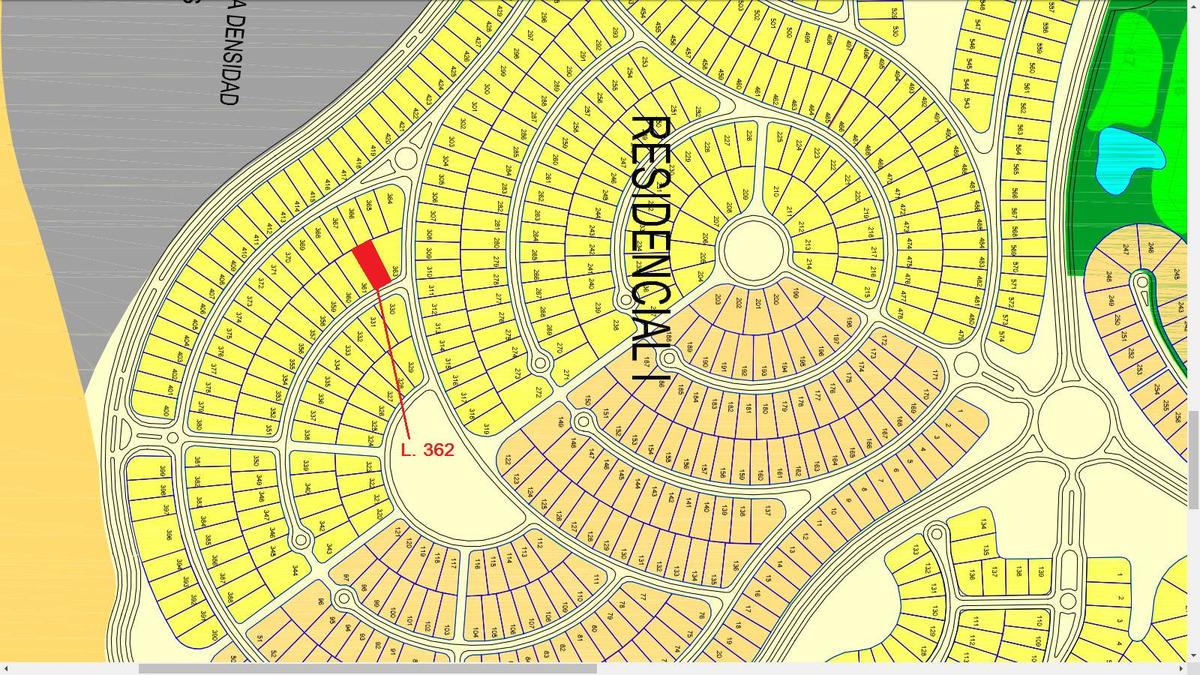 4810 - residencial i lote 362 costa esmeralda