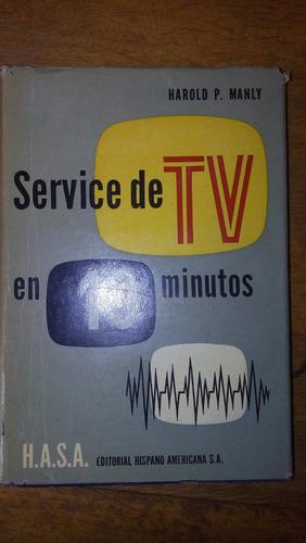 4844 libro service de tv en 10 minutos h manly hasa 2º ed
