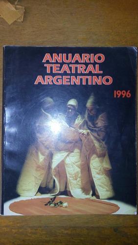 4874 libro anuario teatral argentino 1996 la butaca