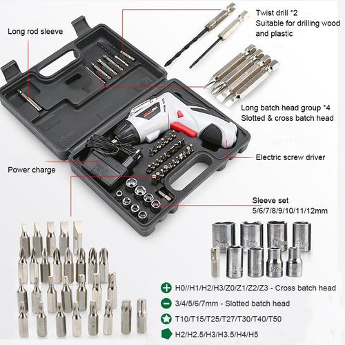4.8v destornillador eléctrico multi-función de carga portáti