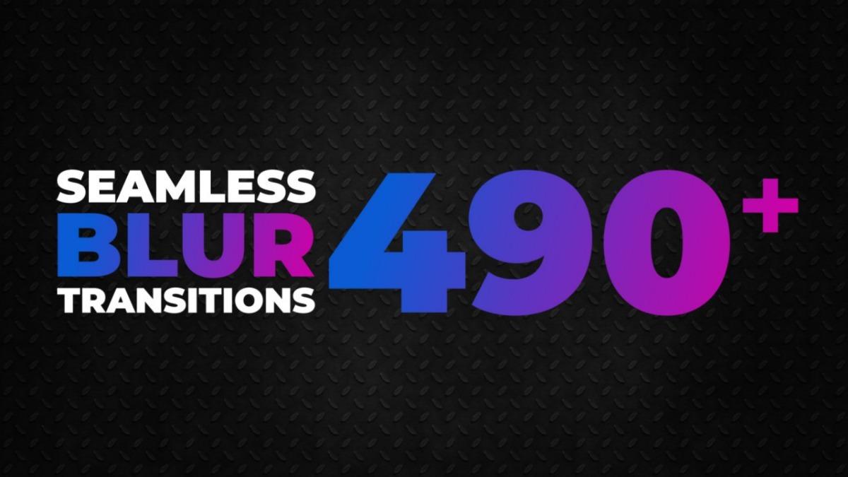 490+ Seamless Blur Transitions Premiere Pro Presets
