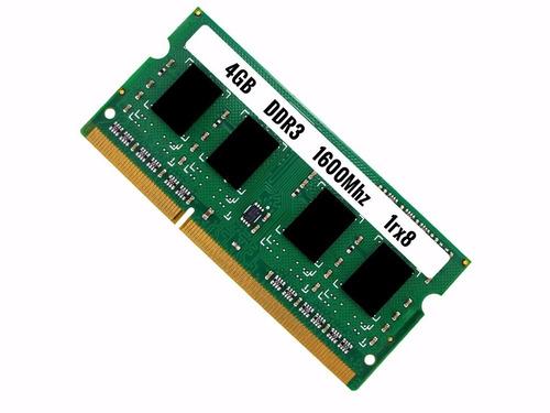 4gb ddr3 memória notebook